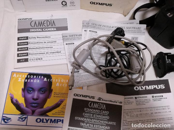 Cámara de fotos: CAMARA FOTOGRAFICA / VIDEO - OLYMPUS E-20P + 2 LENTES - Foto 9 - 243563775