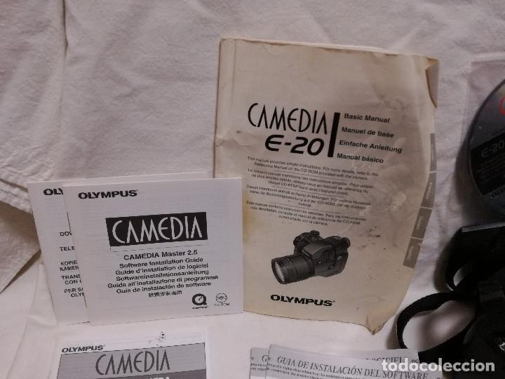 Cámara de fotos: CAMARA FOTOGRAFICA / VIDEO - OLYMPUS E-20P + 2 LENTES - Foto 10 - 243563775