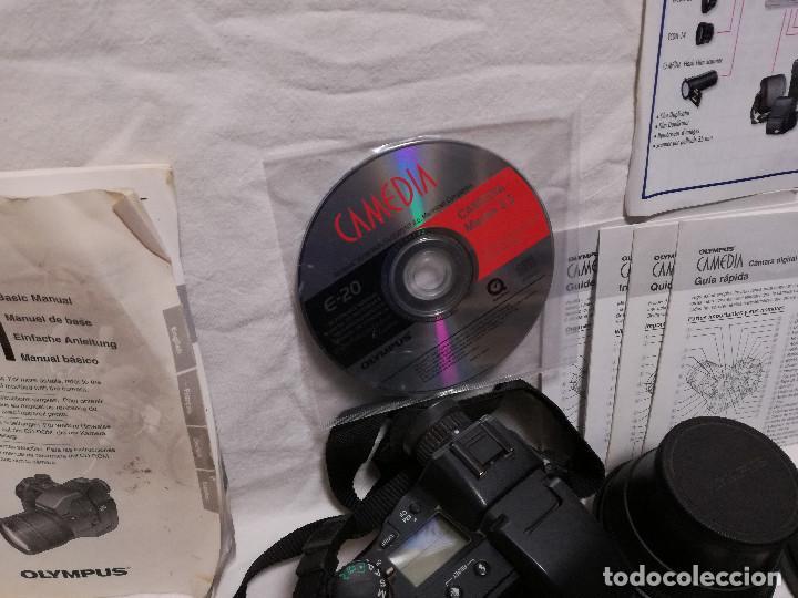 Cámara de fotos: CAMARA FOTOGRAFICA / VIDEO - OLYMPUS E-20P + 2 LENTES - Foto 11 - 243563775