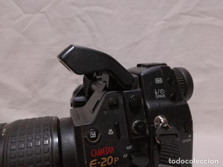 Cámara de fotos: CAMARA FOTOGRAFICA / VIDEO - OLYMPUS E-20P + 2 LENTES - Foto 23 - 243563775