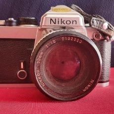 Fotocamere: CAMARA NIKON -NIKKOR 50 MM 1.1.8 NO ESTA PROBADO. Lote 244526345
