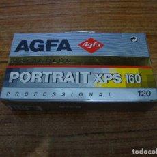 Fotocamere: PAQUETE DE 5 CARRETES AGF COLOR PORTAIT XPS 160 NUEVO CADUCADO. Lote 244638795
