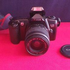 Cámara de fotos: CAMARA CANON EOS 500 ZOOM LENS EF 35_80MM.NO ESTA PROBADO. Lote 244862285