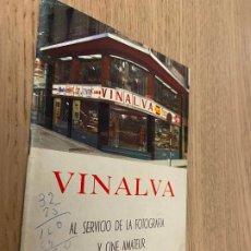 Cámara de fotos: VINALVA AL SERVICIO DE LA FOTOGRAFIA Y CINE AMATEUR, GIJON. Lote 244971225