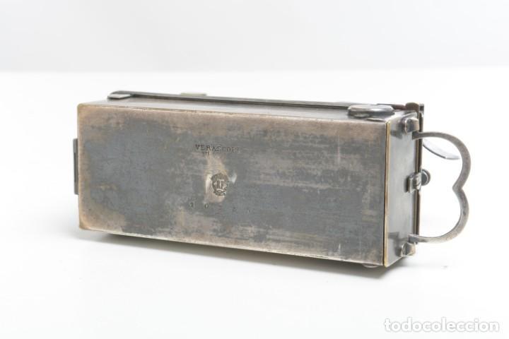 Cámara de fotos: Antigua cámara estereoscopica Verascope Bte SCDG París objetivos Zeiss - Foto 6 - 245258770