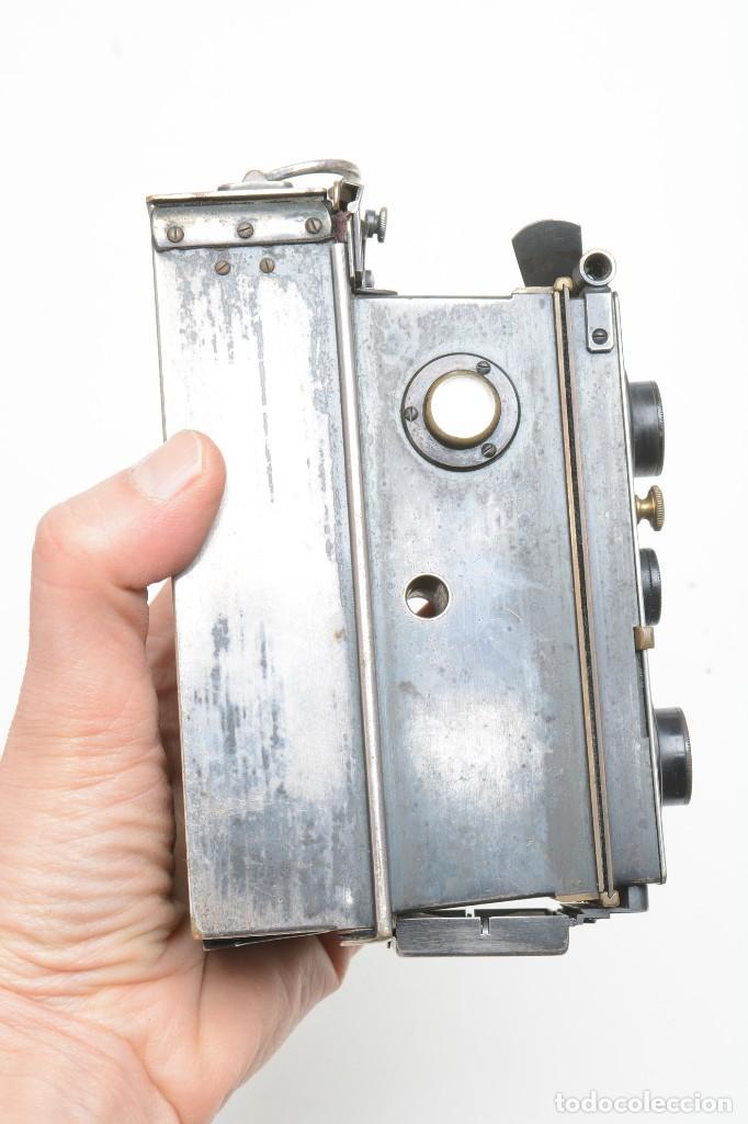 Cámara de fotos: Antigua cámara estereoscopica Verascope Bte SCDG París objetivos Zeiss - Foto 12 - 245258770