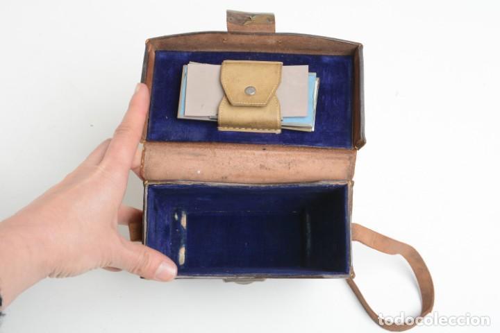Cámara de fotos: Antigua cámara estereoscopica Verascope Bte SCDG París objetivos Zeiss - Foto 16 - 245258770