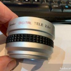 Cámara de fotos: LENTE KENKO DIGITAL TELE 2.0 X - SGT-20. Lote 246713815