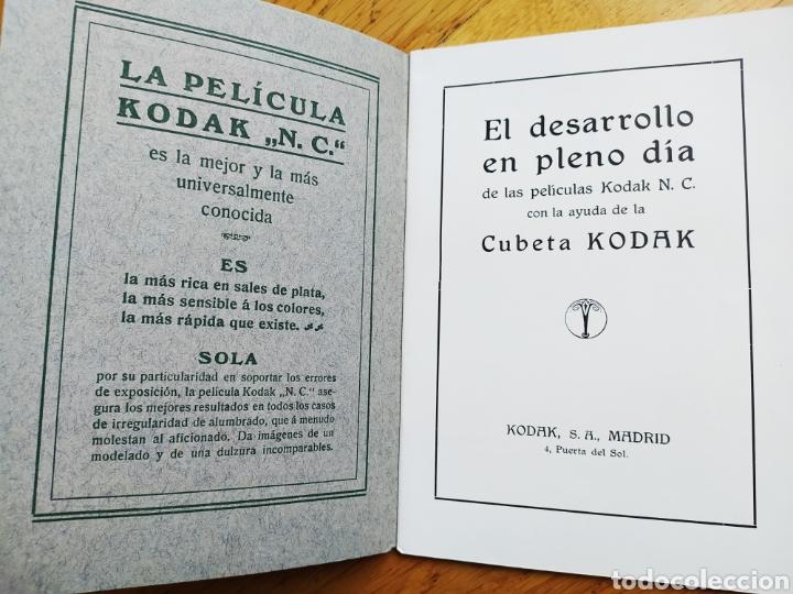 Cámara de fotos: MANUAL PARA EL DESARROLLO EN PLENO DÍA CON AYUDA DE CUBETA KODAK - 24 PAG. - 13x18 CM - Foto 6 - 247208915