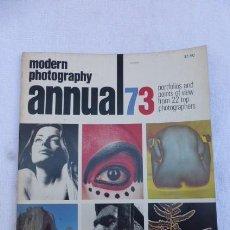 Cámara de fotos: FOTOGRAFIA MODERNA, AÑO 1973,,EN INGLES (MODERN PHOTOGRAPHY,,,ANNUAL 1973)... Lote 247801835