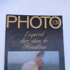 Cámara de fotos: PHOTO SON.....ESPECIAL 10 AÑOS DE HAMILTON.... Lote 247802260