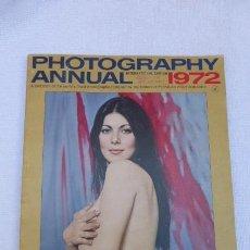 Cámara de fotos: PHOTOGRAPHY ANNUAL..AÑO 1972..COMPENDIO FOTOGRAFICO AÑO1972 INGLES..CURIOSO.. Lote 247802605