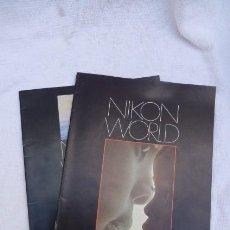 Cámara de fotos: NIKON WORLD, REVISTAS DE ARTE FOTOGRAFICO NIKON.... Lote 248087995