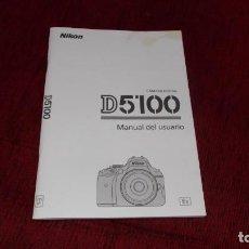 Cámara de fotos: MANUAL USUARIO DE LA CAMARA NIKON D5100 CPERFECTO SIN USO 82 PAGINAS,INCLUYE DOS CDS. Lote 248369960