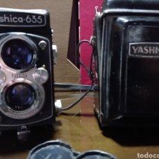 Cámara de fotos: CAMARA YASHICA 635 ,CON FUNDA EN PERFECTO ESTADO. Lote 249368440
