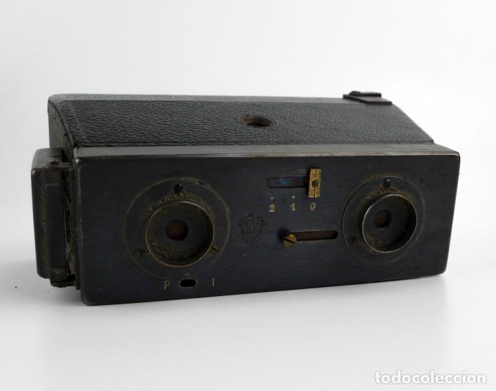 Cámara de fotos: Jules Richard,París - Le Glyphoscope - cámara estereoscópica - Ca.1906-20 - Foto 2 - 252125320