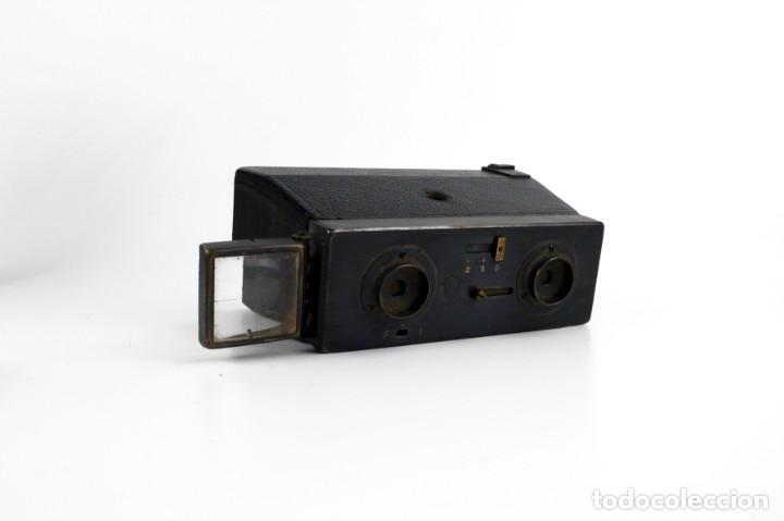 Cámara de fotos: Jules Richard,París - Le Glyphoscope - cámara estereoscópica - Ca.1906-20 - Foto 3 - 252125320