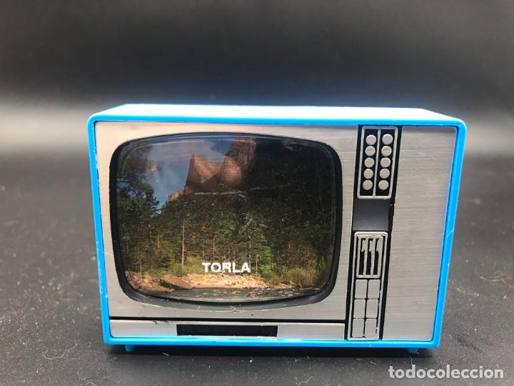 TELEVISIÓN VISOR DE DIAPOSITIVAS RECUERDO DE TORLA - ORDESA (Cámaras Fotográficas - Visores Estereoscópicos)