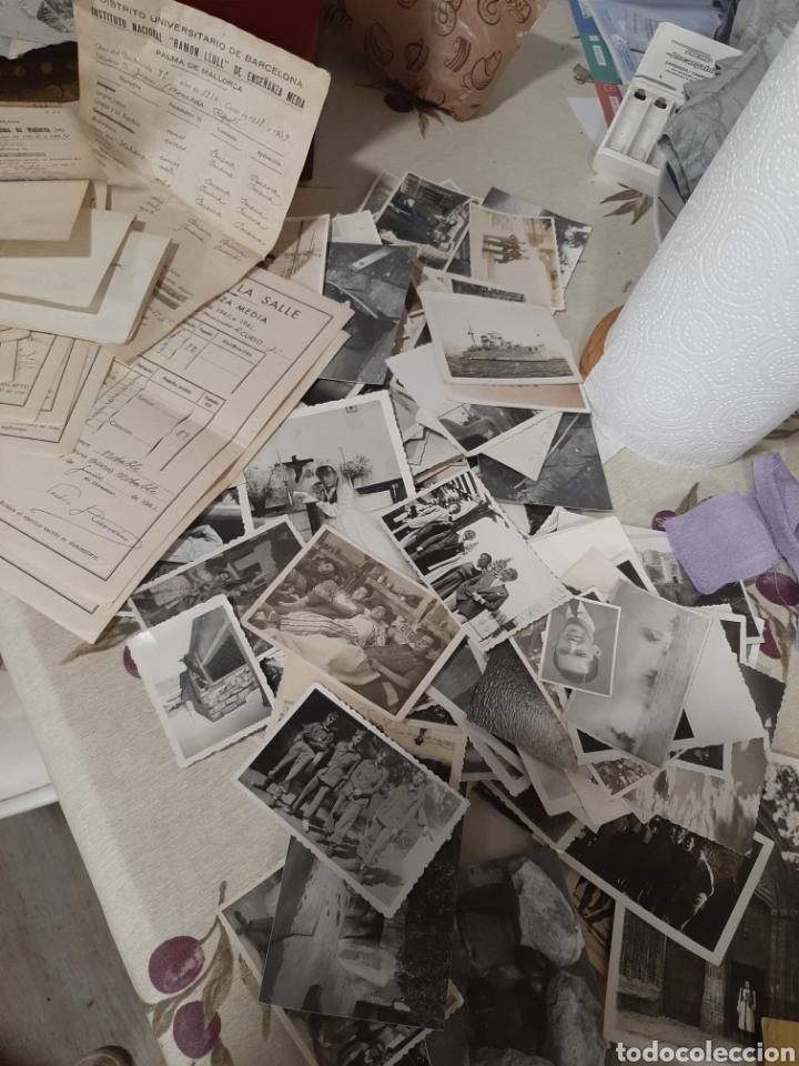 150 FOTOS ANTIGUAS Y BOLETINES (Cámaras Fotográficas - Otras)