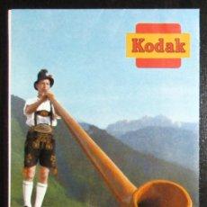Fotocamere: CATÁLOGO Y FOLLETO DESPLEGABLE DE KODAK RETINA Y RETINETTE. ORIGINALES DE 1966.. Lote 255638215