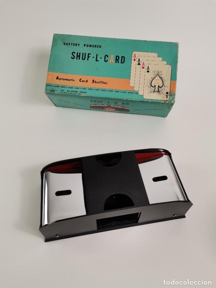 SHUF-L-CARD. AUTOMATIC CARD SHUFFLER. S.XX. (Cámaras Fotográficas - Otras)