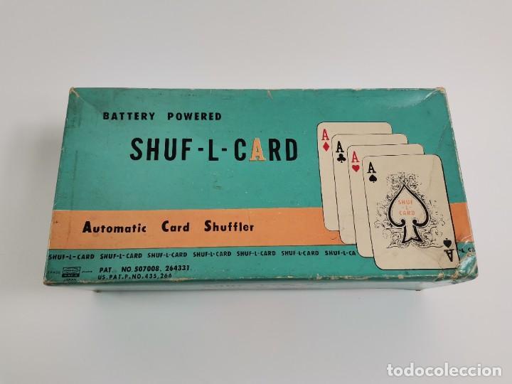 Cámara de fotos: SHUF-L-CARD. AUTOMATIC CARD SHUFFLER. S.XX. - Foto 2 - 257651400