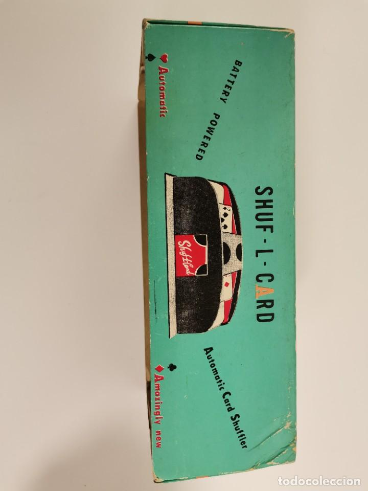 Cámara de fotos: SHUF-L-CARD. AUTOMATIC CARD SHUFFLER. S.XX. - Foto 6 - 257651400