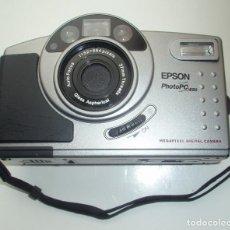 Cámara de fotos: CÁMARA DIGITAL EPSON, PHOTO PC 650. AUTO FOCUS.1152 X 864 PIXELS. 37MM THREADS. GLASS ASPHERICAL.. Lote 45528883
