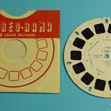 Cámara de fotos: DISCO PARA VISOR ESTEREOSCÓPICO. 7 IMÁGENES 3D A COLOR. S. REMO III. Lote 258207430