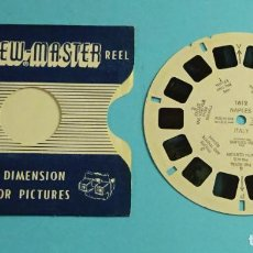 Fotocamere: DISCO PARA VISOR ESTEREOSCÓPICO. VIEW-MASTER. 7 IMÁGENES 3D A COLOR. NAPOLES. Lote 258208320
