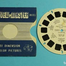 Fotocamere: DISCO PARA VISOR ESTEREOSCÓPICO. VIEW-MASTER. 7 IMÁGENES 3D A COLOR. MICKEY MOUSE GOES A HUNTING. Lote 258212030