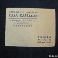 Fotocamere: BARCELONA-CASA CASELLAS-ARTICULOS FOTOGRAFICOS-CATALOGO PUBLICIDAD-VER FOTOS-(K-2508). Lote 258792390