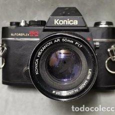 Fotocamere: CAMARA FOTOGRAFICA KONICA AUTO REFLEX TC OBJETIVO HEXANON AR 50 MM F 1.7 55 - FUNCA - 015. Lote 261185895