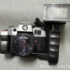 Cámara de fotos: CAMARA FOTOGRAFICA REFLEX OLYMPIA CON FLASH 50 MM 1:6.3 - FUNCA - 016. Lote 261188445