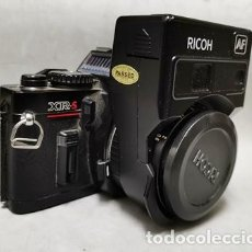 Fotocamere: CAMARA FOTOGRAFICA REFLEX RICOH XR-S CON AF RIKENON 1:2 50 MM FLASH - FUNCA - 018. Lote 261200730