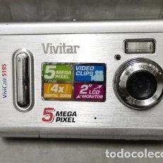 "Cámara de fotos: CAMARA DIGITAL VIVICAM 5195 5 MEGA PIXEL 2"" LCD MONITOR DIGITAL ZOOM 4X - FUNCA-023. Lote 261351105"