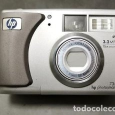 Cámara de fotos: CAMARA DIGITAL HP PHOTOSMART 735 3,2 MEGAPIXELS 15 X ZOOM - FUNCA-025. Lote 261359900