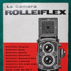 Cámara de fotos: CÁMARA FOTOGRÁFICA ROLLEIFLEX MANUAL 1966. Lote 262105875