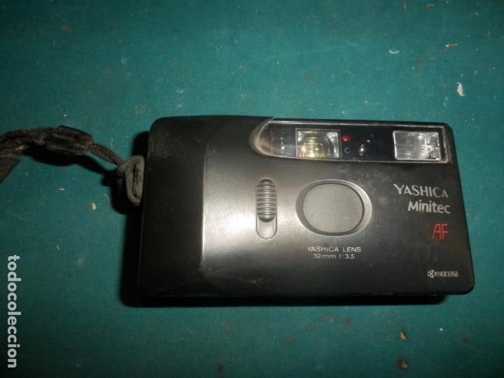 CÁMARA DE FOTOS YASHICA MINITEC AF KYOCERA - YASHICA LENS 32 MM 113.5 - VER FOTOS (Cámaras Fotográficas - Otras)