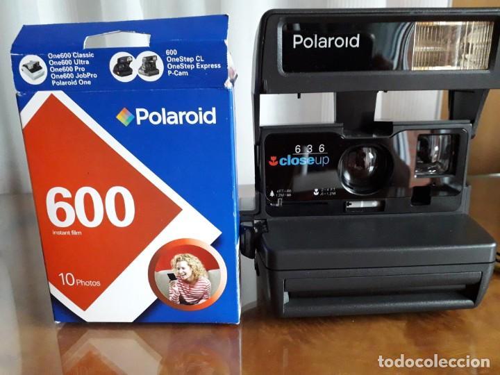 Cámara de fotos: camara instantanea polaroid626 closp-up - Foto 2 - 262379045