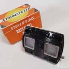 Fotocamere: VISOR ESTEREOSCOPICO STEREOFILMS BRUGUIERE-FRANCE - STEREOCLIC. Lote 262431090