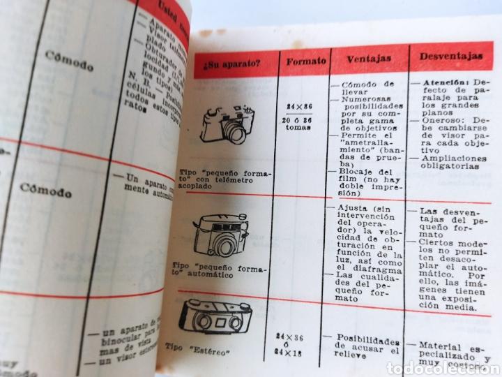 Cámara de fotos: Pequeño Libro de Manual Fotográfico años 60 - Foto 4 - 262492390