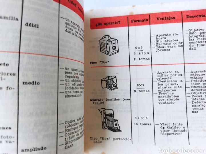 Cámara de fotos: Pequeño Libro de Manual Fotográfico años 60 - Foto 5 - 262492390
