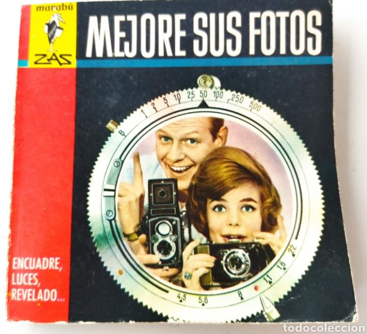PEQUEÑO LIBRO DE MANUAL FOTOGRÁFICO AÑOS 60 (Cámaras Fotográficas - Catálogos, Manuales y Publicidad)