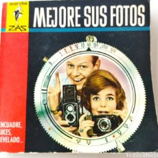 Cámara de fotos: PEQUEÑO LIBRO DE MANUAL FOTOGRÁFICO AÑOS 60. Lote 262492390