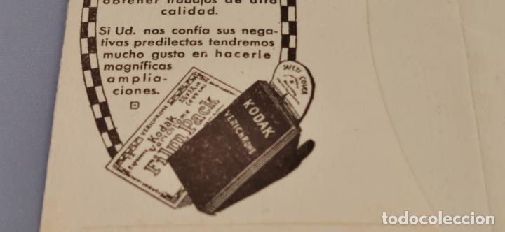 Cámara de fotos: Antigua carpeta Kodak años 20 para negativos - Foto 5 - 263568975