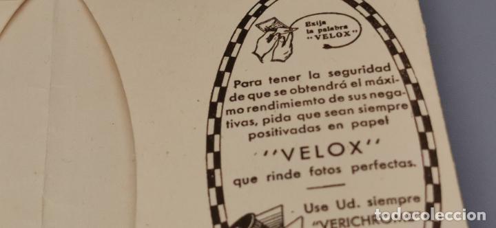 Cámara de fotos: Antigua carpeta Kodak años 20 para negativos - Foto 6 - 263568975