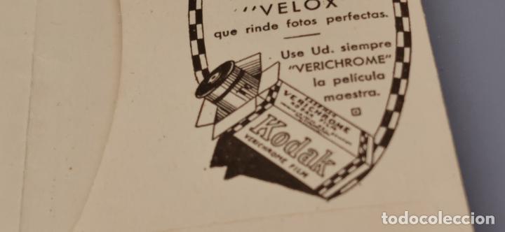 Cámara de fotos: Antigua carpeta Kodak años 20 para negativos - Foto 7 - 263568975