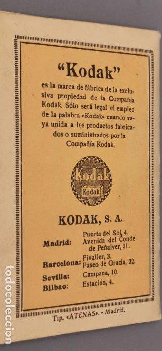 Cámara de fotos: Antigua carpeta Kodak años 20 para negativos - Foto 8 - 263568975