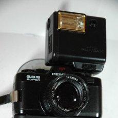 Cámara de fotos: CAMARA 110 REFLEX PENTAX AUTO 110 SUPER CON EQUIPO EN FUNCIONAMIENTO. Lote 267110719